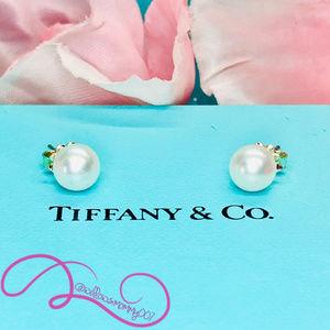 NWOT Tiffany&Co Freshwater Cultured Pearl Earrings